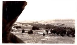 klondike-ranch-historical-wyoming-aerial-view